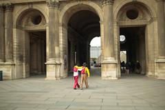 clowns (lestermillado) Tags: new paris france art museum walking europe tour louvre famous le latin clowns quarters neweurope 2015