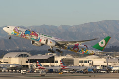 B-16722 Hello Kitty EVA 777 (ColinParker777) Tags: hello camera sunset tom plane canon out lens airplane golden climb la fly flying los airport eva br angeles dusk aircraft aviation cartoon flight kitty off terminal aeroplane sanrio special professional international bradley hour 7d take l taipei boeing lax dslr scheme departure 777 triple d2 tripler tpe rotate 773 livery klax rctp 777300er tbit 200400 77w 7dmkii 7dmk2