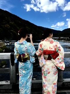 嵐山渡月橋 Togetsukyo Arashiyama