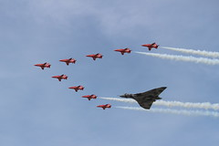 IMG_0678 (adrian.symonds16) Tags: red arrows vulcan raf avro fairford riat xh558