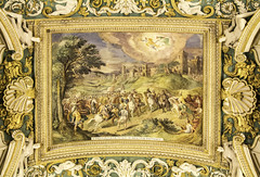 Pope St Leo defends Rome (Lawrence OP) Tags: vatican museum stpaul palace fresco stpeter atilla stleothegreat
