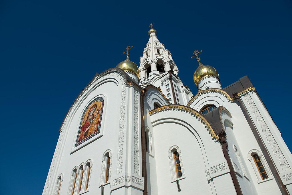 фото: Храм в честь Иверской иконы Божьей Матери