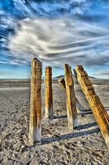 the cabal (she, myself and eye) Tags: sky nature clouds utah hiking ruin antelopeisland greatsaltlake vista imagination weathering nikond90 natureandpeopleinnature eechillington