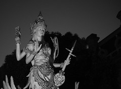 Saraswati No. 1 (John Bense) Tags: statue indonesia washingtondc religion goddess hindu hinduism dupontcircle saraswati dewi