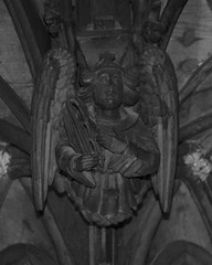 Photo of Chester Cathedral Wood Carving (2)