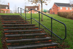 Up Here For a Little Fun (Canis Major) Tags: playground bristol steps handrail housingestate lockleaze