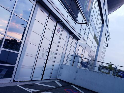 Складчасті швидкісні ворота SFT Efaflex, спортивна арена