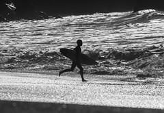 Running for It (cetch1) Tags: beach surf surfer wave surfboard rodeobeach bigwave waveporn