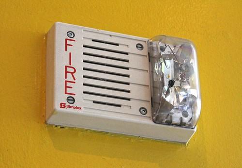 Simplex Fire Alarm Speaker/Strobe - a photo on Flickriver