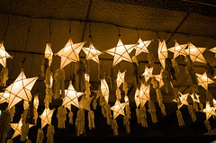 Looking up close at the stars (Blue Nozomi) Tags: christmas city lights star philippines illumination manila lantern decor parol