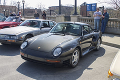959 (Hertj94 Photography) Tags: porsche 959 coupe fuelfed coffee classics downtown winnetka april 2016 canon t3