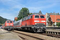 IMMENSTADT ALLGU (Giovanni Grasso 71) Tags: immenstadt allgu br218 db regio bodensee giovanni grasso nikon d700 locomotiva diesel