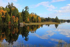 A Good Reflection . . . (doc030395) Tags: kawishiwiriver minnesota highway1 autumn colors french voyagers northest pristine