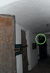 Orb caught in the Galleries (Avvie_) Tags: nottingham ghost spirit dead dark overnight hunt investigation galleries justice police station caves