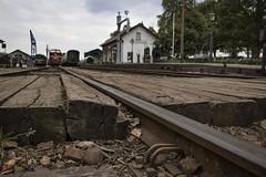 Beekbergen Station (Jeroenc71) Tags: beekbergen station netherlands veluwe track beam wood house train transport vintage