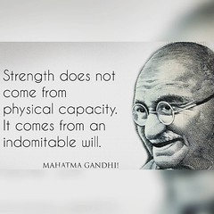 Words of wisdom from Mahatma Gandhiji. #gandhijayanthi... (justlifelessons) Tags: life lessons wordsofwisdom quote day quotes thoughtoftheday thoughts lessonslearned li