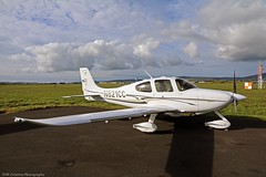 Cirrus SR22 N821CC at Isle of Man EGNS 21/10/16 (IOM Aviation Photography) Tags: cirrus sr22 n821cc isle man egns 211016