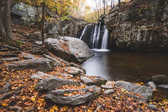 autumn at falling branch (Johanna D Taylor) Tags: kilgore falls waterfall maryland gunpowder rocks state park autumn long exposure nikon