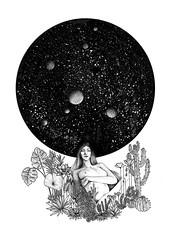 Naturaleza (Gabopatapalo) Tags: art illustration draw drawink fineart blakandwhite dotwork