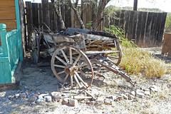P1130240 Old Wagon (lois manowitz) Tags: gallerygang arizona