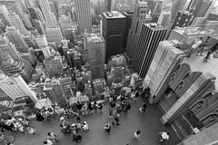 Top of The Rock (Guilherme Nicholas) Tags: streetphotography street blackandwhite bw pb newyork newyorkcity nyc manhattan cityscape urban tourist buildings