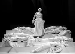 90 Years Ms Monroe (Miranda Ruiter) Tags: sculpture statue blackandwhite art amsterdam nieuwekerk marilynmonroe exhibition gentlemenpreferblondes