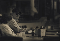 Street (Jostography) Tags: spain street streetphotography canon city ciudad catedral calle bar face blancoynegro whiteandblack sol espaa explore exposicion exposure hombre jostography joseadiez urban urbano eos edition