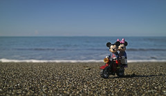 #RighttoHappiness (autobusapedali) Tags: squared lego love photo legophoto beach dynamocamp happiness toscana blue tuscany canonm3 canon