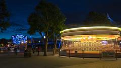 Round and Round it goes... (mrlaugh) Tags: night carousel riverthames charingcross london travel unitedkingdom hungerfordbridge 2016 england longexposure vacation europe uk motionblur gb