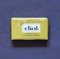 Vintage dial Travel Soap (hmdavid) Tags: vintage travel soap advertising midcentury design dial deodorant