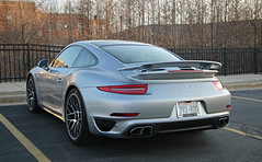 Porsche 911 Turbo (991) (SPV Automotive) Tags: porsche 911 turbo 991 coupe exotic sports car silver