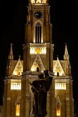 Playing darts?? (nanchilo) Tags: architecture novisad vojvodina novisadcenter nikon nikond3100 streetphotography night