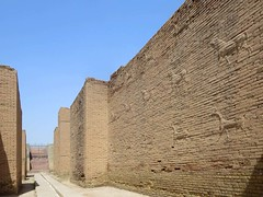 Foundations al Ishtar Gate (D-Stanley) Tags: ishtar gate babylon iraq
