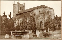 602, Waltham Abbey (Hodge postcards) Tags: enfield hodge cahodge walthamabbey postcard chashodge