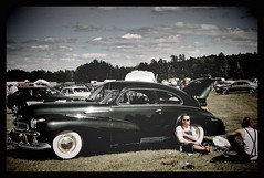 stay cool... (iEagle2) Tags: americancar car ep2 olympusep2 olympuspen oldcar sweden summer vintage