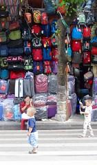 Child's play (program monkey) Tags: fake backpacks oldquarter children vietnam hanoi