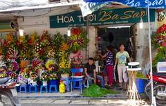 Flower shop (program monkey) Tags: vietnam hanoi oldquarter flower