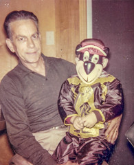 My grandfather holding me at age 5 (randyherring) Tags: scanned grandfather costume