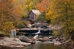Glade Creek Grist Mill (SteveMasker) Tags: americanculture appalachianmountains artscultureandentertainment autumncollection awe babcockstatepark backgrounds beautyinnature blurredmotion buildingexterior builtstructure changingcolor cliff colorimage copyspace day deciduoustree ecosystem ecotourism factory fairytale falling flowingwater forest fourseasons gladecreek gladecreekgristmill goldcolored history horizontal idyllic image industrialbuilding journey land leaf lightnaturalphenomenon locallandmark lushfoliage majestic mapletree memories mill multicolored nature nopeople nonurbanscene northamerica nostalgia obsolete october outdoors plant plantpart pollution pond red reflection relaxation river ruralscene rustic scenics season smalltownamerica statepark