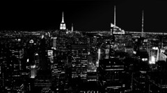 New York (Miradortigre) Tags: city light luces bw blackandwhite usa nyc ny newyork nuevayork