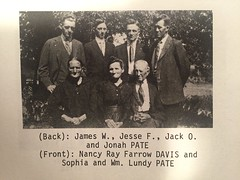Pate Family (Franklin's Smartt Images) Tags: pate peytonsville franklin history ray
