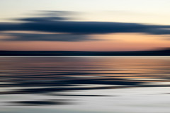 line_3182 (Valerie Guseva) Tags: sea seascape abstract water waves light lights long exposure surreal icm impression crimea russia smooth smudge hypnotic outdoor sky ocean horizon sunset clouds nature landscape seaside shore cloud line illusion warm silk blur red