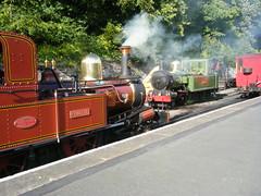 Isle of Man Railway, locos Nos. 8 and 10 (johnzebedee) Tags: steam railway narrowgauge isleofmanrailway douglas isleofman iom heritage johnzebedee