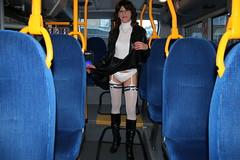 IMG_5364 (Kira Dede, please comment my photos.) Tags: kiradede kirad 2016 crossdresser copenhagen lingerie stockings upskirt dyrehaven