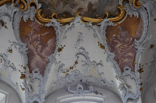 Staffelstein (Alemania). Basilica Vierzehnheiligen. Decoración