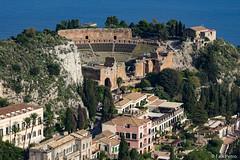 Griechisches Theater Taormina (falk.petro) Tags: sicilia urlaub flickr sicily italy italien italia sizilien taormina ita