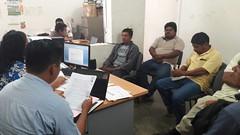 Reunión en #Tehuantepec con dependencias del Sector Agrario y el órgano de representación de San Lucas Ixcotepec #Oaxaca