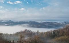 Zagorje (22) - misty morning (Vlado Ferenčić) Tags: zagorje hrvatskozagorje hrvatska veternica fog foggymorning mistymorning foggy sky autumn autumncolours croatia nikond600 nikkor357028 mountains landscapes pejzaži brilliant wow