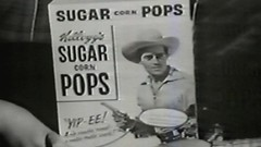 1954 - Commercial - Kellogg's Sugar Corn Pops w/Andy Devine and Guy Madison (VideoArcheology) Tags: videoarcheology 1954 commercial kelloggs sugar corn pops wandy devine guy madison