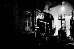 Steaming (BL1956) Tags: train northyorkshire trainshed northyorkmoorsrailway steamtrain grosmont england unitedkingdom gb